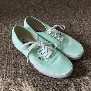 Mint Vans Sneakers